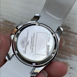 Tommy Bahama Accessories - Tommy Bahama White Dial Silicone band w/Box  EUC